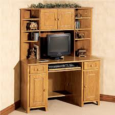 Black Wood Corner Computer Desk by Will You Choose Computer Desks With Hutch