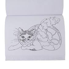 Colorama Coloring Books Featuring Cats And Kittens