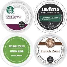 Various Brands Starbucks Caffe Verona Faro Italian Barista Prima French Roast