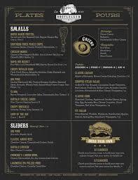 El Patio Mexican Grill Bakersfield Menu by Full Menu Bootlegger Downtown San Diego Ca