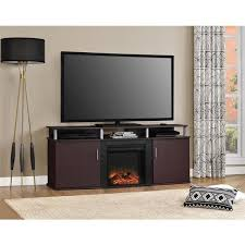 Ameriwood Media Dresser 37 Inch by Ameriwood Home Carson Electric Fireplace 70 Inch Cherry Tv Console