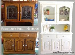 Shabby Chic Dining Room Hutch by Fixer Upper