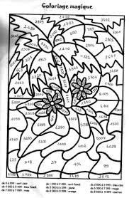 coloriages magiques tables de multiplication 7 best coloriage images on diy maths and multiplication