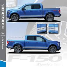 100 Truck Door Decals Ford F150 Rocker Side Stripes 150 ROCKER ONE 20152019