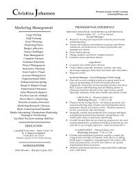 Supply Chain Resume Examples New Objective Management