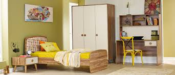 jugendzimmer retro trend beige 4 teilig in coolem retro design
