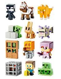 Mattel Minecraft Mini Figures Obsidian 4 Series 12 1 Inch Figure