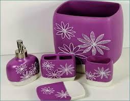 Walmart Purple Bathroom Sets by Sparkling Purple Bathroom Accessories Wigandia Bedroom Collection