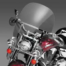 Harley Davidson Light Bar by National Cycle Switchblade 2 Up Clear Windshield For Harley