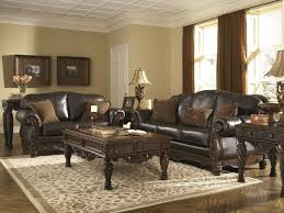 Rooms With Brown Couches by North Shore Dark Brown Sofa U0026 Loveseat 22603 35 38 Leather