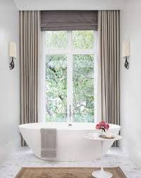 Design Bathroom Window Curtains by Best 25 Ceiling Mounted Curtain Track Ideas On Pinterest