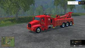 100 Tow Truck Simulator TOWTRUCK V10 Farming Simulator 19 17 15 Mods FS19 17
