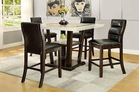 5 Piece Formal Dining Room Sets by Page Contemporary Rectangular Semi Formal Dining Table Bana Home