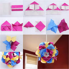 How To DIY Beautiful Origami Paper Lantern