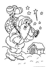 Coloriage Dé De Noël