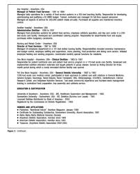 Administrative Dietitian Resume Example
