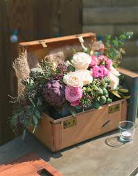 Vintage Rustic Flower Decorations For Fall Wedding Ideas