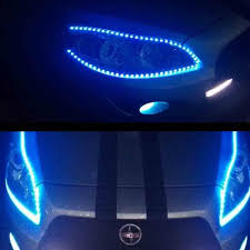 4pcs 12V 15 LED Car Truck Motor Grill Flexible Waterproof Light ... Tsv 7 Color Led Strip Under Car Tube Underglow Interior Lights Truck Bed With Strips Diy Howto Youtube Gtr Lighting Long Lightningseries Light Multicolor Whewell 4fxible Underbody Blue Rclighthouse Purple Neon Glow Kit Fxible 12v Led For Trucks Decor Auto Decoration Dashboard Floor Lamp 2018 Rgb Flowing Tail Trunk Dynamic Streamer 4piece Vehicle 30cm Waterproof 15 Motor Grill Color Chaing Light Strips With Remote For Sale In Barnet