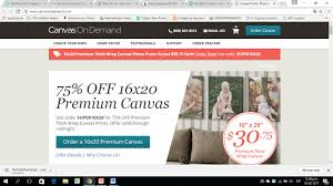 Canvas On Demand Shipping Coupon Code / Cherry Culture ... Sephora Canada Promo Code Take The Tatcha Real Results Canvas On Demand Your Photo To Art Coupons By Greg Mont Lands End Coupon Code How Use Promo Codes And Coupons For Lasendcom Easter Discount Email With From Whtlefish Vistaprint Deals 2019 Fat Quarter Shop Discount Coupon Vapingzonecom Code Ebay Australia 10 Argos Vouchers Yogurtland Discounts Bags Bows 17com Slash Freebies Cvasmandyrphotoartuponcodes Ben Olsen Auto Fetched Bigcommerce Guide