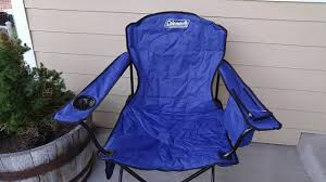 Cabelas Folding Camp Chairs by Coleman Oversized Quad Chair Review Youtube