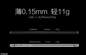 Xiaomi launches iPhone 6 Plus killer called Mi Note