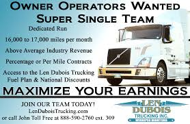 Super Single Owner Operator Team Needed For Dedicated Run - Len ... Become An Owner Operator At Shaffer Trucking Youtube How Much Money Ipdent Operators Make 1500 A Day Take Much Does Oversize Trucking Pay Gallery Has Put Merrville Man In The Drivers Seat I Quit My Job Didnt Retire Why Be Ownoperator Ordrive Truck Driver Detention Pay Dat Household Division Drive Atlas Federal Logistics Otr Jobs Resume Sample And Template
