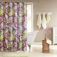 online handloomhub eyelet curtains set of 2 purple yellow and 7