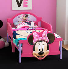 Minnie Mouse Bedroom Decor by Disney Minnie Mouse 3d Toddler Bed Toys