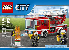 Lego - City, Fire Ladder Truck | PlayOne Lego City Fire Truck Free Transparent To The Rescue Level 1 Lego Itructions 60110 Station Book 3 60002 Sealed Misb Toys Games On Carousell Brigade Kids Amazoncom Scholastic Reader Ladder 60107 Engine Burning 60004 7239 Bricks Figurines City Airport With Two Minifigures And