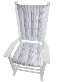 Ticking Stripe Navy Blue Rocking Chair Cushion Set - Latex Foam Fill Quickcover Ticking Stripe Relaxed Fit Long Box Pleat Parsons Chair Slipcover Simple And Streamlined The Chair Slipcover Updated Ikea Counter Stools With Bar Stool Slipcovers Refreshing Easy Diy Striped That Exude Pleated Ottoman Howto Sincerely Marie Designs Ruffled Amazoncom Linen Seat Cover On 4 Sides Sure One Piece Henriksdal Ding Skirt How To Sew A For Ikea Henriksdal Sebago Slipcovered Arm Host Chairs Ethan