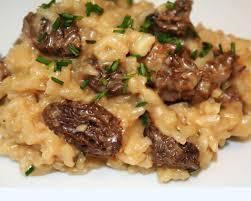 cuisiner les morilles la cuisine de bernard risotto aux morilles