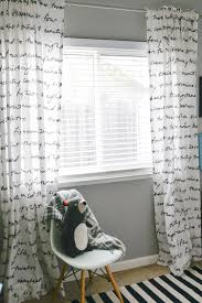 Dignitet Curtain Wire Pictures by How To Hang Curtains A Quick Tutorial Hey Let U0027s Make Stuff