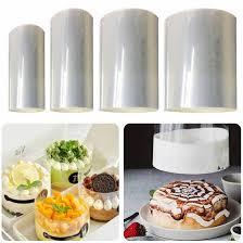 diy backen werkzeuge kuchen dessert dekoration einstellbare mousse ring runde form mousse kuchen rand kragen küche zubehör