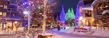 Twinkling Christmas Tree Lights Canada by Whistler Bc Canada Christmas And New Year U0027s In Whistler