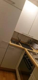 gebrauchte eck single küche 1 60 x 0 97 1 57