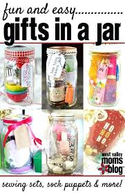 Easy Gifts In A Jar Great For Last Minute Creative Gift Ideas Cute Mom On Christmas