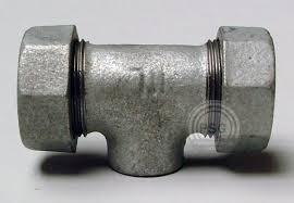 19 dresser coupling galvanized pipe 1 quot galvanized