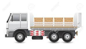 100 Wood Trucks Illustration Of And Crate Isolated On White Background