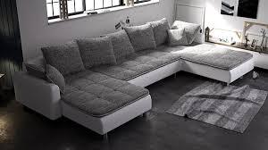 canapé gris et blanc pas cher canapé d angle gris et blanc cesare la baraque