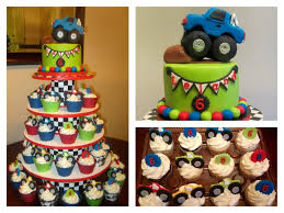 Monster Truck Cake & Cupcake Tower - CakeCentral.com Personalised Monster Truck Edible Icing Birthday Party Cake Topper Buy 24 Truck Tractor Cupcake Toppers Red Fox Tail Tm Online At Low Monster Trucks Cookie Cnection Grave Digger Free Printable Sugpartiesla Blaze Cake Dzee Designs Jam Crissas Corner Cake Topper Birthday Edible Printed 4x4 Set Of By Lilbugspartyplace 12 Personalized Grace Giggles And Glue Image This Started
