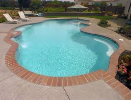 pool tile with brick coping search pool