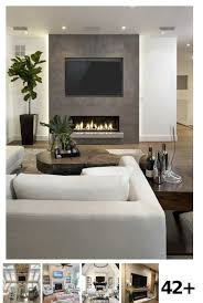 42 living room with fireplace and tv ideas wohnzimmer