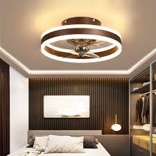 moderne minimalistischen decke fan licht kristall dekorative