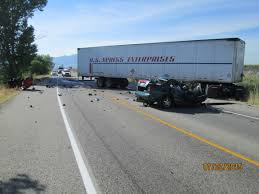 Man Killed In Box Elder County Semi-Truck Crash | Gephardt Daily All Escape Unharmed After Fiery Semi Crash On I696 At Woodward Truck Caused By Foggy Weather On Highway 41 In Kings 6 Cars Crash Juring 8 Tristate Tollway Near Gurnee Crashes Accidents Youtube Leelanau County Semitruck Caught Camera Northern Police Driver Falls Asleep And Crashes Dumps 46000 Pounds Of Lumber Wolf Creek Pass Cause Train Vs Semi Truck Stevens Point Still Under Truck Crash Compilation Semi Trucks Driving Fails Car Crashes In Sheriff Driver Says Brakes Failed Before Fatal Wis