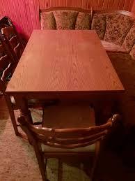 holz esszimmer set eckbank tisch mit 4 stühlen