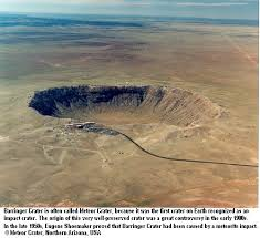 The Well Known Meteor Crater Also As Barringer In Arizona Most Iconic Impact On Earth Nearly Bankrupted Its Owner Who Was
