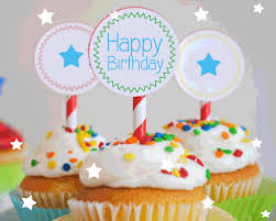 Happy Birthday Cupcakes For You