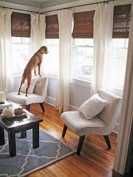 Pottery Barn Curtains Emery by Every Awkward Window Treatment Problem Solved Layered Curtains