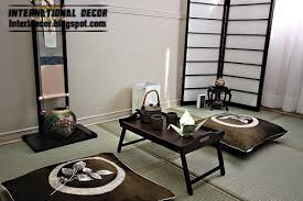 Japanese Dining Room Decoration Idea Style