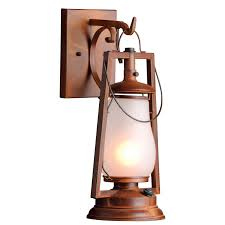 American Made Rustic Old West Style Outdoor Lighting